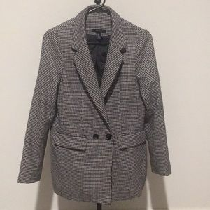 Black and white jacket, used, small.